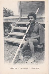 ONONGHE ~ Papua & New Guinea ~ BLIND NATIVE BOY ~ 1910