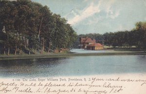 PROVIDENCE , Rhode Island , 1906 ; The Lake , Roger Williams Park