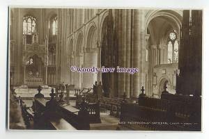 Ju1218 - Peterborough Cathedral Choir - Judges postcard 4831