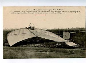 205247 FRANCE AVIATION airplane pilot Picat-Dubreuil #1643 old