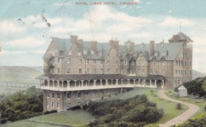 Royal Links Hotel Cromer Norfolk 1906 Postcard