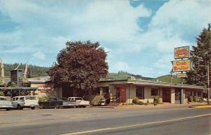 Seaside Oregon Crab Broiler Restaurant Street View Vintage Postcard K57459