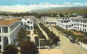 Jamaica King Street Showing Public Building Postcard