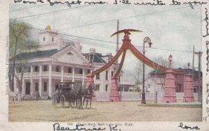 SALT LAKE CITY , Utah , 1907 ; Eagle Gate