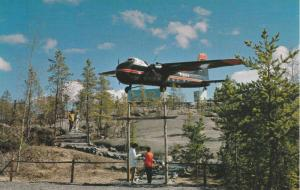 Bristol Monument, Yellowknife Airport, Yellowknife , N.W.T. , Canada , 40-60s