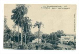 GUINEE - Konakry, Entree d'un Boulevard, 00-10s