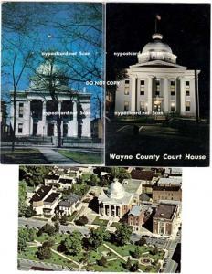 3 - Wayne County Court House Cards