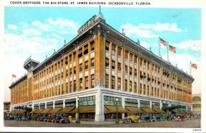 Florida Jacksonville Cohen Brothers Department Store 1940 Curteich