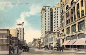 Dallas Texas Main Street Street Scene Vintage Postcard J926650