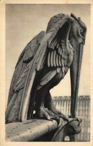 Vintage France Postcard, Notre Dame de Paris Chimere Gargoyle 15V
