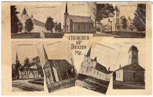 Churches of Dexter, Me