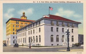 ALBUQUERQUE , New Mexico , 30-40s ; U. S. Post Office & Federal Building
