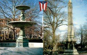 Ohio Mansfield Central Park The Vasbinder Fountain