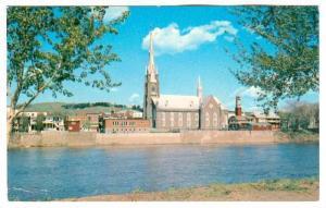 Sur les bords de la Chaudiere, le temple de la ville de Ste. Marie, Ontario, ...
