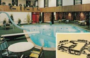 AIBERT LEE , Minnesota, 1940-1960s; Kahler's In Town Motel , Swimming Pool