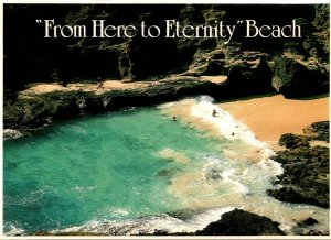 Hawaii Oahu South Shore From Here To Eternity Beach
