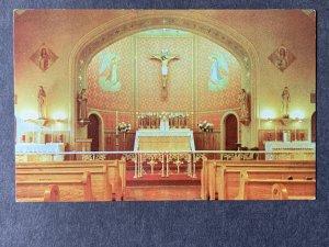 Church Of St. Mary's Nantucket MA Chrome Postcard H1280082928