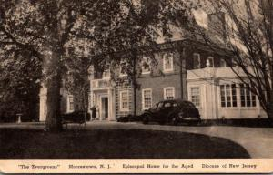 New Jersey Morrestown The Evergeens Episcopal Home For The Aged A...