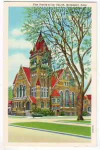 1st Presbyterian Church, Davenport IA