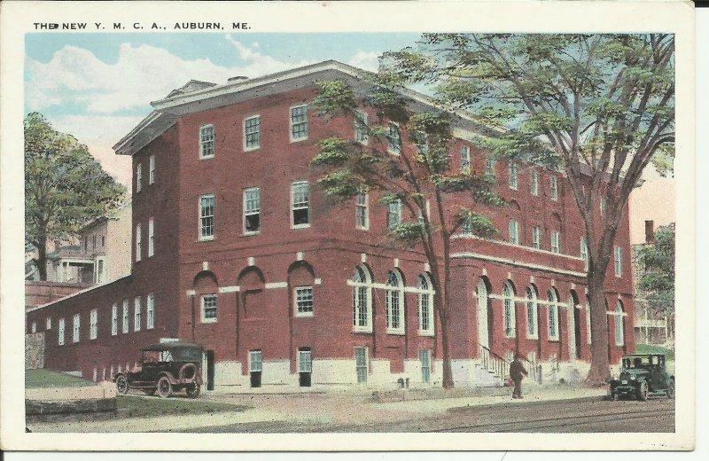 Auburn, Me., The New Y.M.C.A.