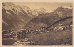 MURREN, Berne, Switzerland; Bird's Eye View, 00-10s