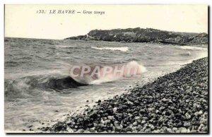 Old Postcard Le Havre Big Time