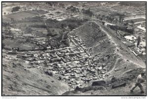 peru, LIMA, Aerial View of the Slum Dwellings (1950s) Dutch RPPC