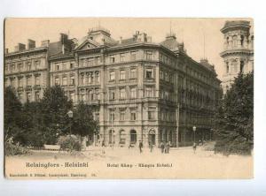 235412 FINLAND HELSINKI Hotel Kamp Vintage postcard