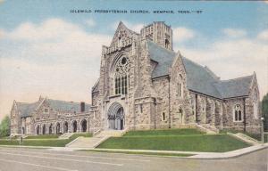 MEMPHIS, Tennessee, 1930-1940's; Idlewild Presbyterian Church