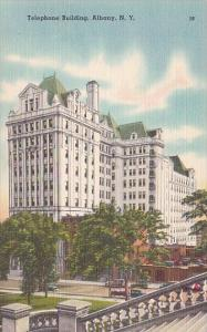 New York Albany Telephone Building