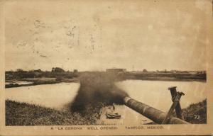 mexico, TAMPICO, A La Corona Well Opened (1920s)