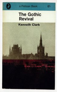 The Gothic Revival Kenneth Clark 1964 Book Postcard