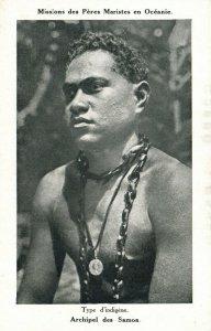 PC CPA SAMOA, PACIFIC, ARCHIPEL DES SAMOA, Vintage Postcard (b19423)