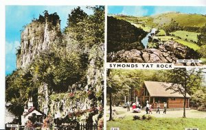 Herefordshire Postcard - Views of Symonds Yat Rock     XX391