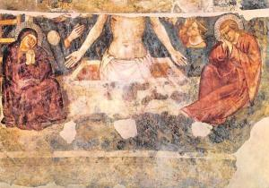 Antica Cattedrale di S. Reparata, Rests of a 14th Century Fresco