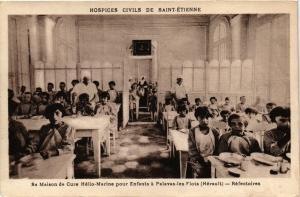 CPA St-ÉTIENNE Maison de Cure Helio-Marine Enfants a Palavas-les-Flots (401882)