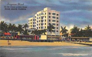 Traymore Hotel On the Ocean at 24th Street Miami Beach FL