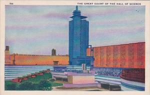 The Great Court Of The Hall Of Science Chicago World's Fair 1933-34