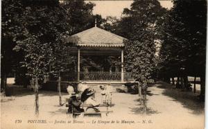 CPA POITIERS - Jardins de Blossac - Le Kiosque de la Musique (255741)