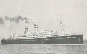 Ocean Liner S.S. VOLENDAM  , Holland-America Line, 1930s-40s