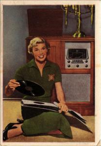 CPA AK Doris Day FILM STARS (818097)