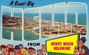 DE - Dewey Beach. Aerial View