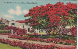 Florida Miami The Royal Poinciana Home