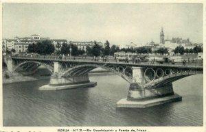 Spain Sevilla Puente de Triana bridge