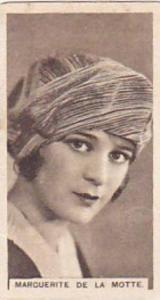 Abdulla Vintage Cigarette Card Cinema Stars Brown Back No 29 Marguerite De La...