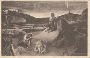 Giovanni Bellini, The Agony in the Garden, unused Postcard