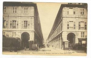 Rue Et Colonne De Boigne, Vues De La Place Saint-Leger, La Savoie, Chambery, ...
