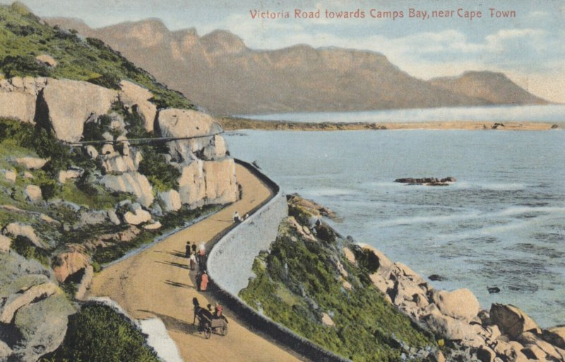 Victoria Road towards Camps Bay , near CAPE TOWN , South Africa , 00-10s
