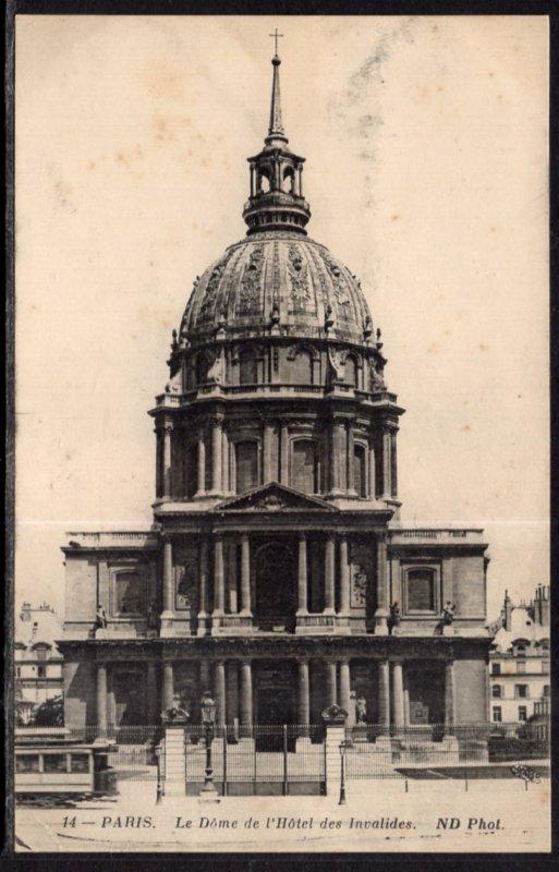 Le Dome de L'Hotel des Invalides,Paris,France BIN