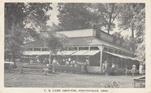 STOUTSVILLE , Ohio , 1910-30s ; U.B. Camp Grounds